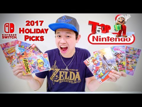 TOP 5 NINTENDO SWITCH GAMES for Holiday 2017