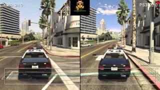 الفرق بين ps3 vs xbox 360 في لعبة grand theft auto v