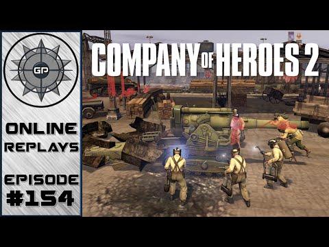 Company of Heroes 2 Online Replays #154 - Pak 43 vs B4
