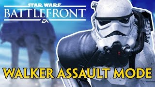 WALKER ASSAULT IS TOO MUCH FUN!!! | Star Wars Battlefront Beta