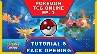 *NEW* PLAYING THE POKÉMON TRADING CARD GAME (TCG) ONLINE FOR THE FIRST TIME!! Ep. 1 Clueless Gaming