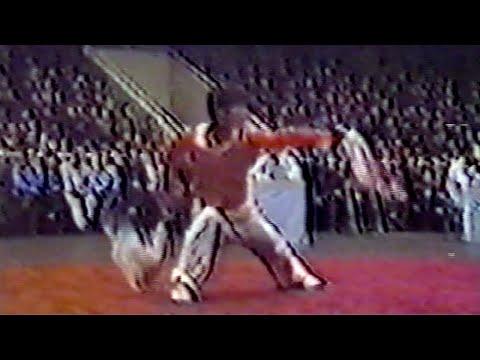 【武術】1984 男子双刀 / 【Wushu】1984 Men Shuangdao (Double Broadswordplay)