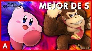 Super Smash Bros Ultimate - Kirby vs Donkey Kong (1v1 Online Competitivo MEJOR DE 5)