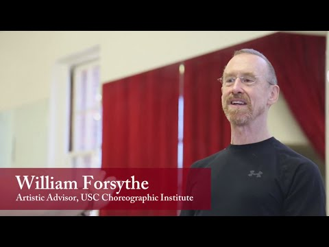 USC Kaufman Faculty Feature: William Forsythe