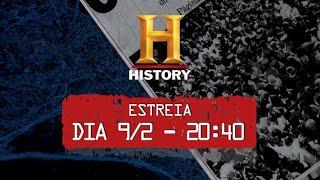 """Promo da série """"Investigadores da História"""""""
