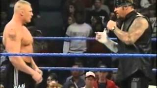 Undertaker And Brock Lesnar Respect Each Other