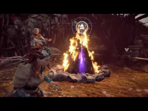 HORIZON ZERO DAWN ANICENT VESSEL SHATTERED KILN WITH MAP AND GUIDE LOCATION