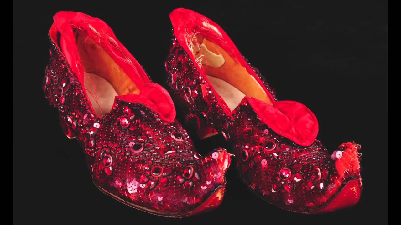 Judy Garland Test Ruby Slippers Amp Dress From The Wizard Of