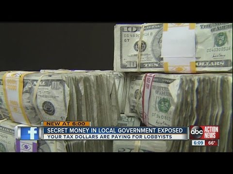 Secret money in local government exposed