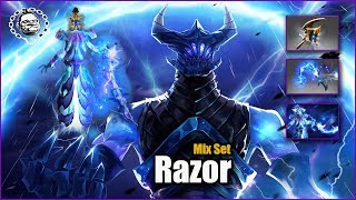 Razor Best Mix Set Magister of the Narrow Fates + Golden Severing Crest + Severing Lash