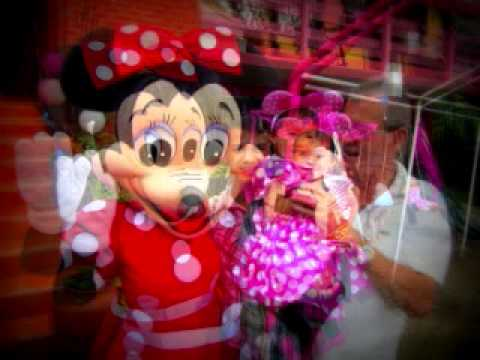 fiestas casa chalet en el jard n de minnie mouse youtube