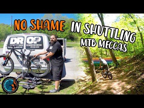 Shuttling Is Not A Crime! Bentonville Arkansas Mountain Biking - Slaughter Pen & Back 40