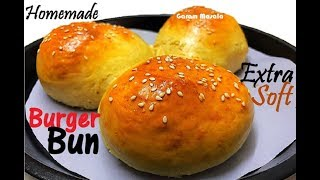സോഫ്റ്റ് ബൻ എളുപ്പത്തിൽ വീട്ടിൽ തന്നെ ഉണ്ടാക്കാം Soft Burger Bun Homemade