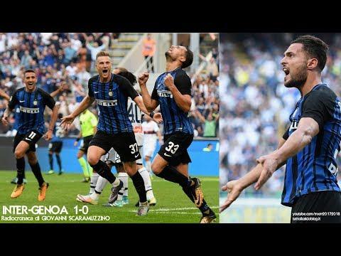 INTER-GENOA 1-0 - Radiocronaca di Giovanni Scaramuzzino (24/9/2017) da Rai Radio 1