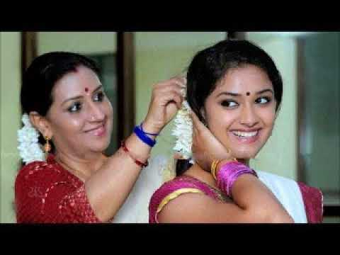 """Old Malayalam Actress """"Menaka Suresh"""" With Family"""