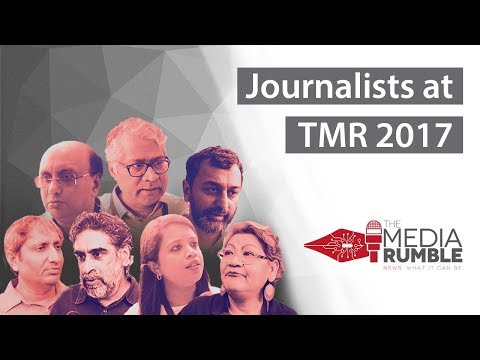 Journalists at The Media Rumble