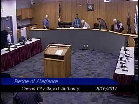Airport Authority Meeting 8/16/2017