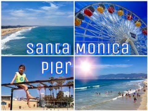 A Fun Day at Santa Monica Pier! 🎡🎢 | •California Travel Diary•