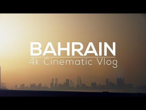 My first time in Bahrain! | 4k Cinematic Vlog