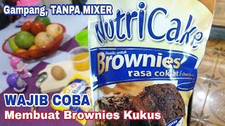 #Tutorial #Tips Cara Gampang Bikin Brownies Kukus
