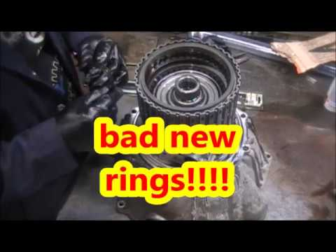 6L80E 6L90E TRANSMISSION REBUILD/REPAIR SEALING RING PROBLEM!!