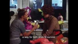 Niki de Saint Phalle, calling attention to art (archive)