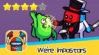 We're Impostors Day3 Walkthrough Rescue Squad Recommend index four stars