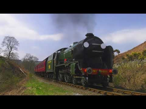 Spring at the North Yorkshire Moors Railway