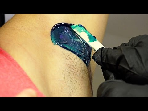 HOW TO WAX ARMPITS // Youtube Tutorial // Cirepil Blue Wax