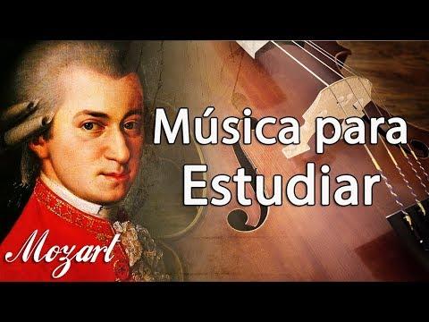 Música Clásica Relajante de Mozart para Estudiar y Concentrarse, Trabajar, Relajarse, Leer