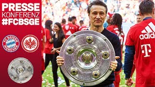 FC Bayern Championship Press Conference w/ Niko Kovac | #FCBSGE