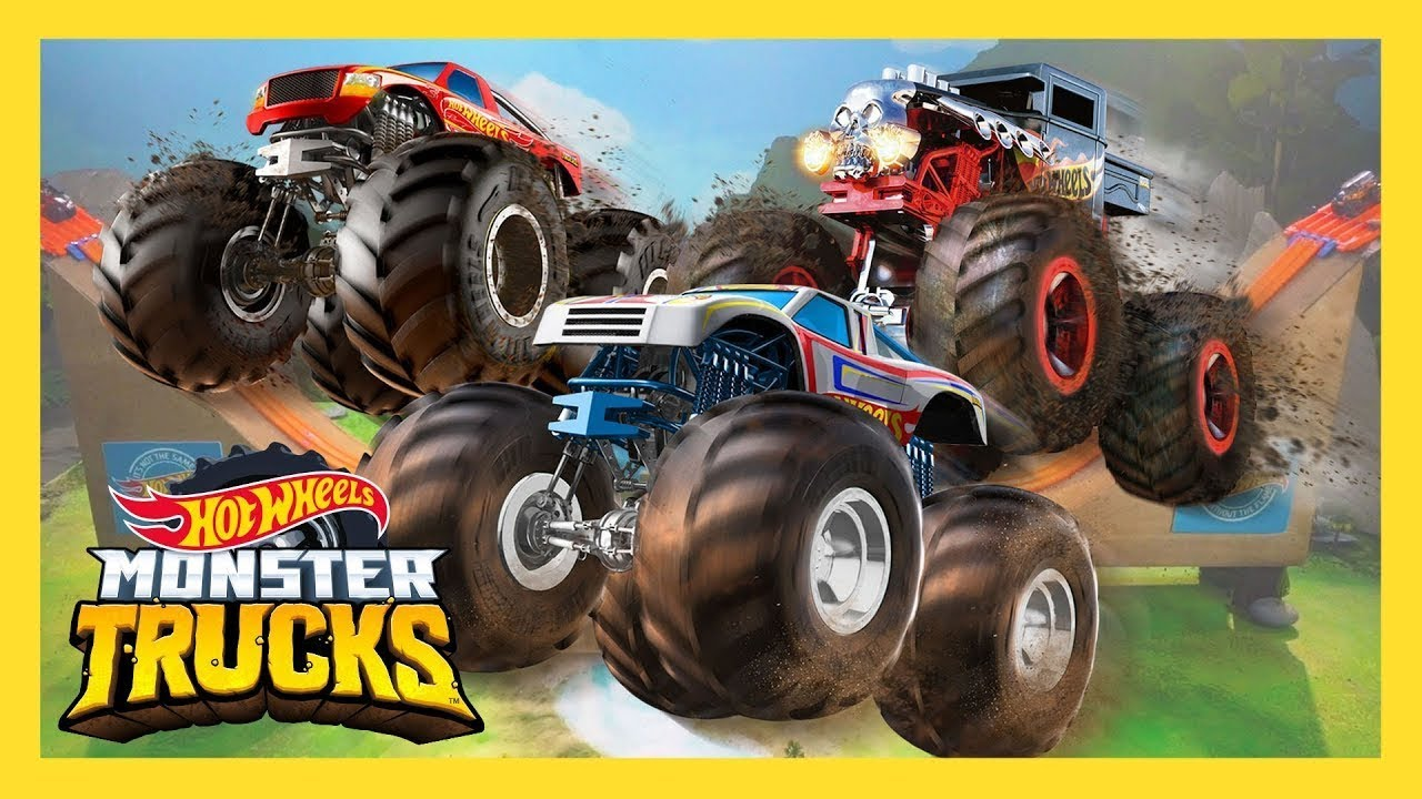 Meet Your Favorite Monster Trucks Monster Trucks Hot Wheels Youtube