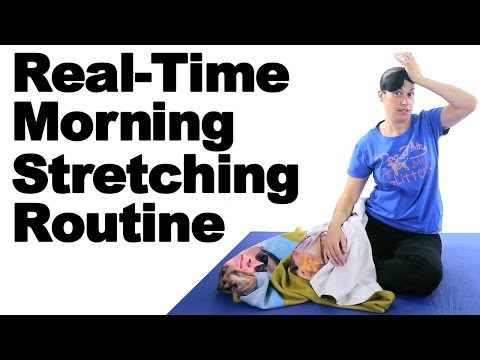 Morning Stretch Routine, Real-Time Routine - Ask Doctor Jo