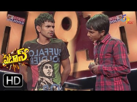 Patas | Saddam Hussein V/S Jnaneswar Jokes war Performance | 19th April 2017  | ETV Plus