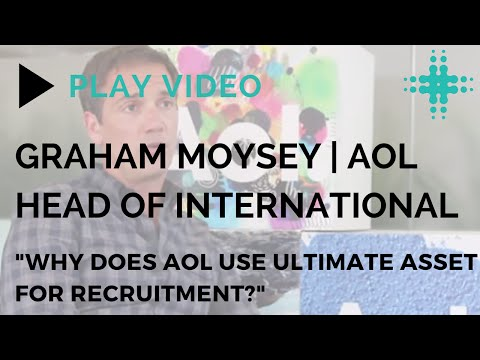 Why do AOL use Ultimate Asset for Recruitment?