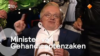 Rick Brink gekozen tot eerste Minister van Gehandicaptenzaken