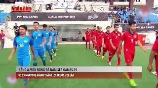Tin Thể Thao 24h Hôm Nay (7h - 19/8): Sea Games 29 - U22 Singapore  Thắng Lợi Dễ Dàng Trước U22 Lào