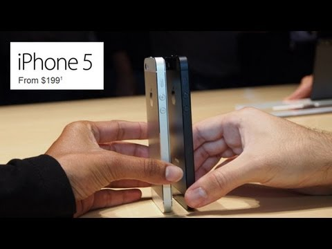 Official Apple iPhone 5 review with iOS 6 Available September 21