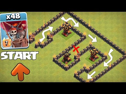 Thumbnail: WHO CAN BEAT THIS!?! | LVL 9 AIR MAZE RETURNS!! | Clash of clans