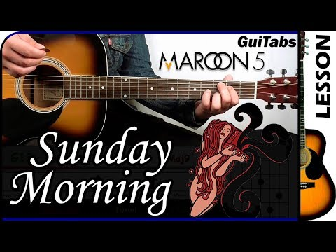 How to play Sunday Morning 🌞 - Maroon 5 / Guitar Tutorial 🎸