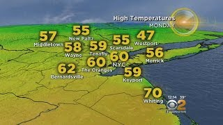 Spotty Wet Weather As Warmer Temps Return