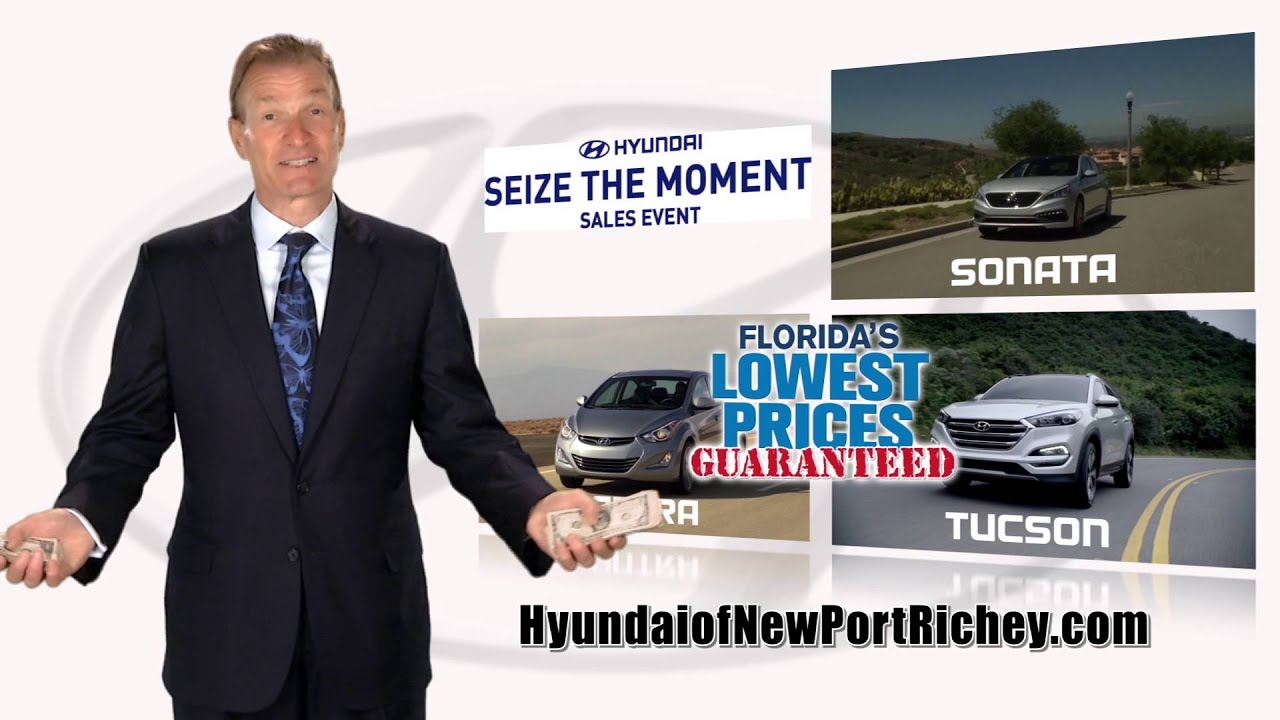 Hyundai of New Port Richey March Markdown Madness March 2016