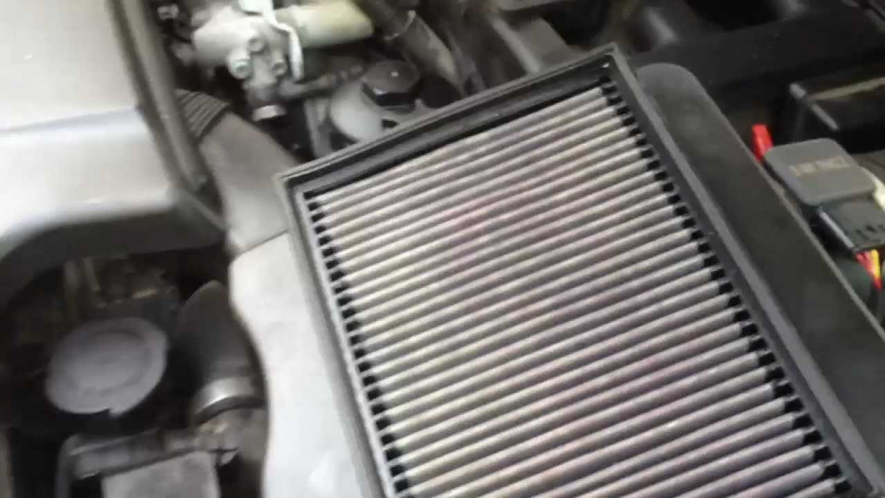 How to replace and clean your air filter in a bmw x3 x5
