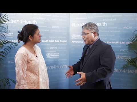 Eliminating malaria in Myanmar - Dr. Thar Tun Kyaw, D-G, Department of Health