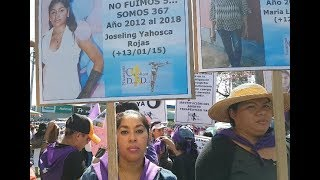 Marcha en el Día Internacional de la Mujer