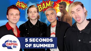 5SOS' Luke Hemmings Challenges Justin Bieber To A Fight 🥊 | FULL INTERVIEW | Capital