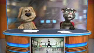 Tom and Ben News Gangnam Style