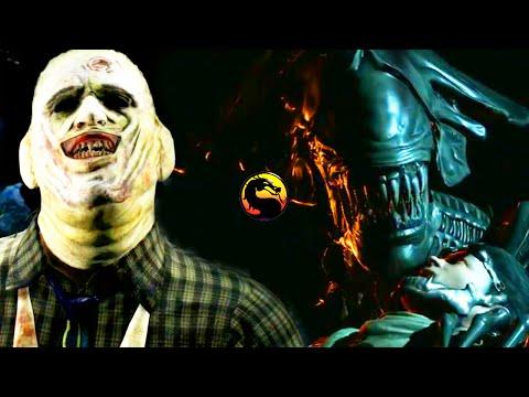 Mortal Kombat X: New ALIEN & LEATHERFACE Gameplay Coming Soon! - Mortal Kombat X Kombat Pack 2 DLC |
