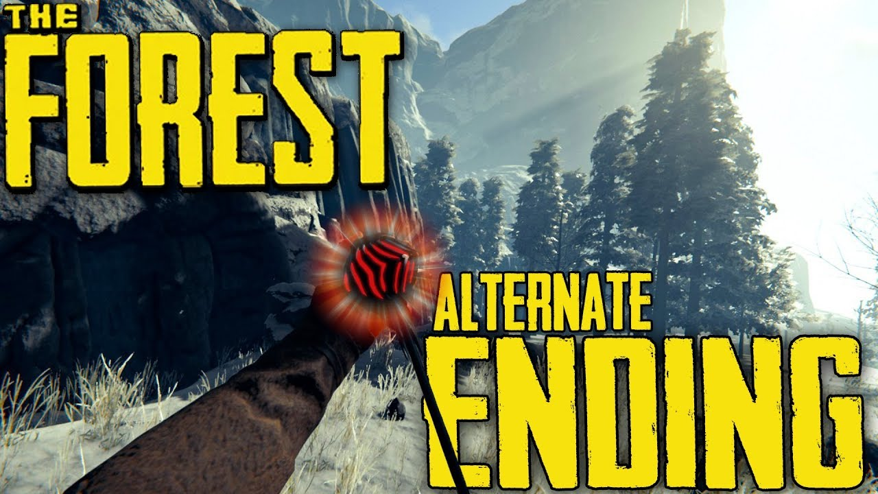 Download The Forest | Alternate Ending | THE CHOICE IS YOURS!! (Full Release)