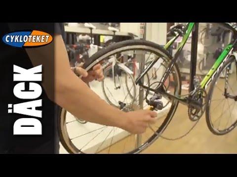 laga punktering på cykel